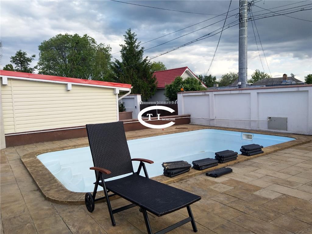 Casa cu piscina Tatarasi  Aviatiei, 1000 mp teren, 160 mp utili.