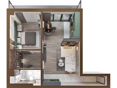 Apartament 2 camere 77 mp Copou, Comision 0%