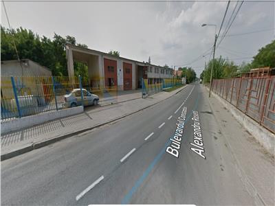 Hala + birouri 700 mp, teren 1831 mp Podul de Fier, deschidere 70 ml