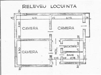 Apartament 3 camere, langa Parcul Junimea, comision 0!