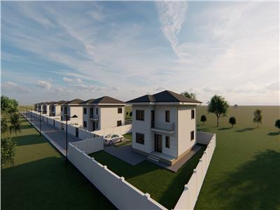 Casa noua, langa padurea Marzesti, Breazu. Suprafata utila: 115mp, Suprafata teren 400mp.