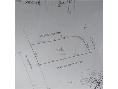 Teren 593 mp Centru,  zona Palas Campus
